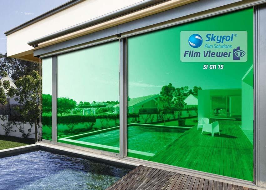 SI15 GN fényvédő és hővédő ablakfólia